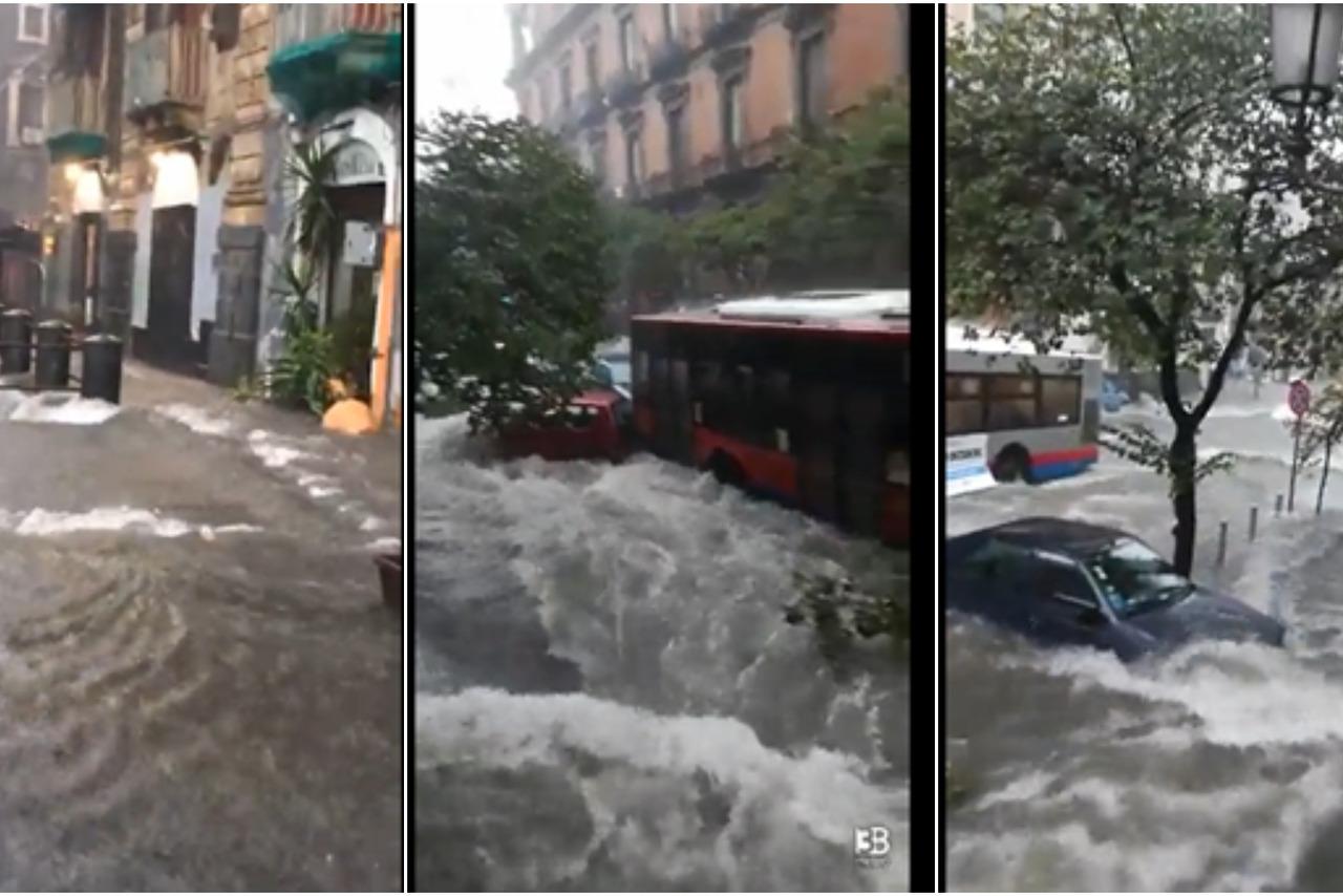 Istočna Sicilija pogođena kišama i poplavama; 'Oluje nisu nikada bile tako silovite i takvog intenziteta'