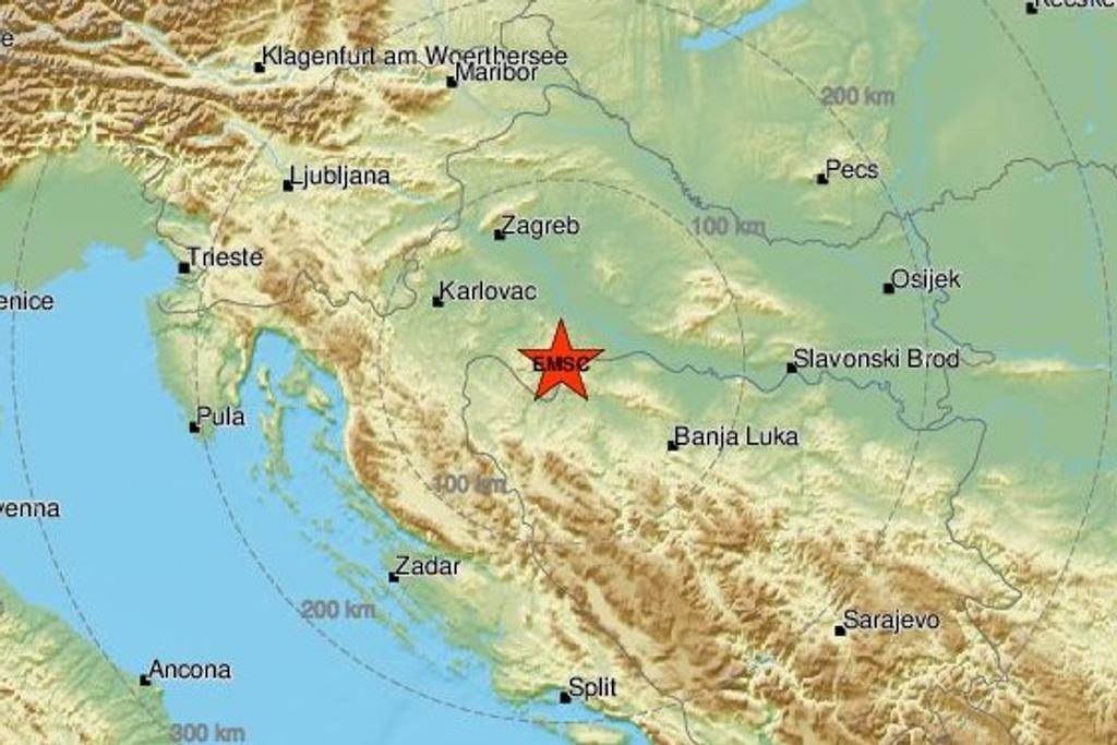 Umjereni potres uznemirio građane, a osjetio se i u BiH: 'Kao da je mina eksplodirala!'